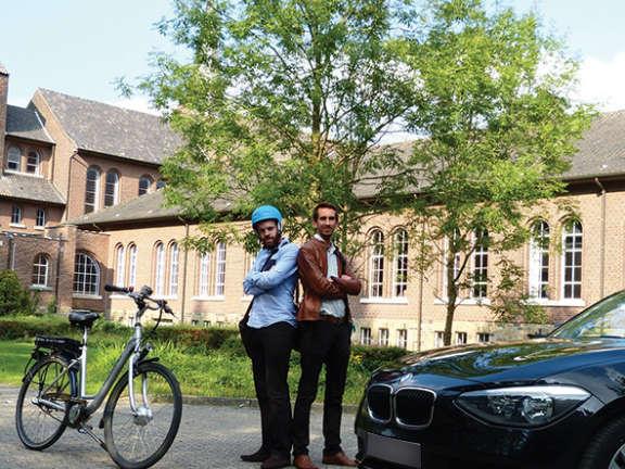 Elektrische boost voor fietsgebruik